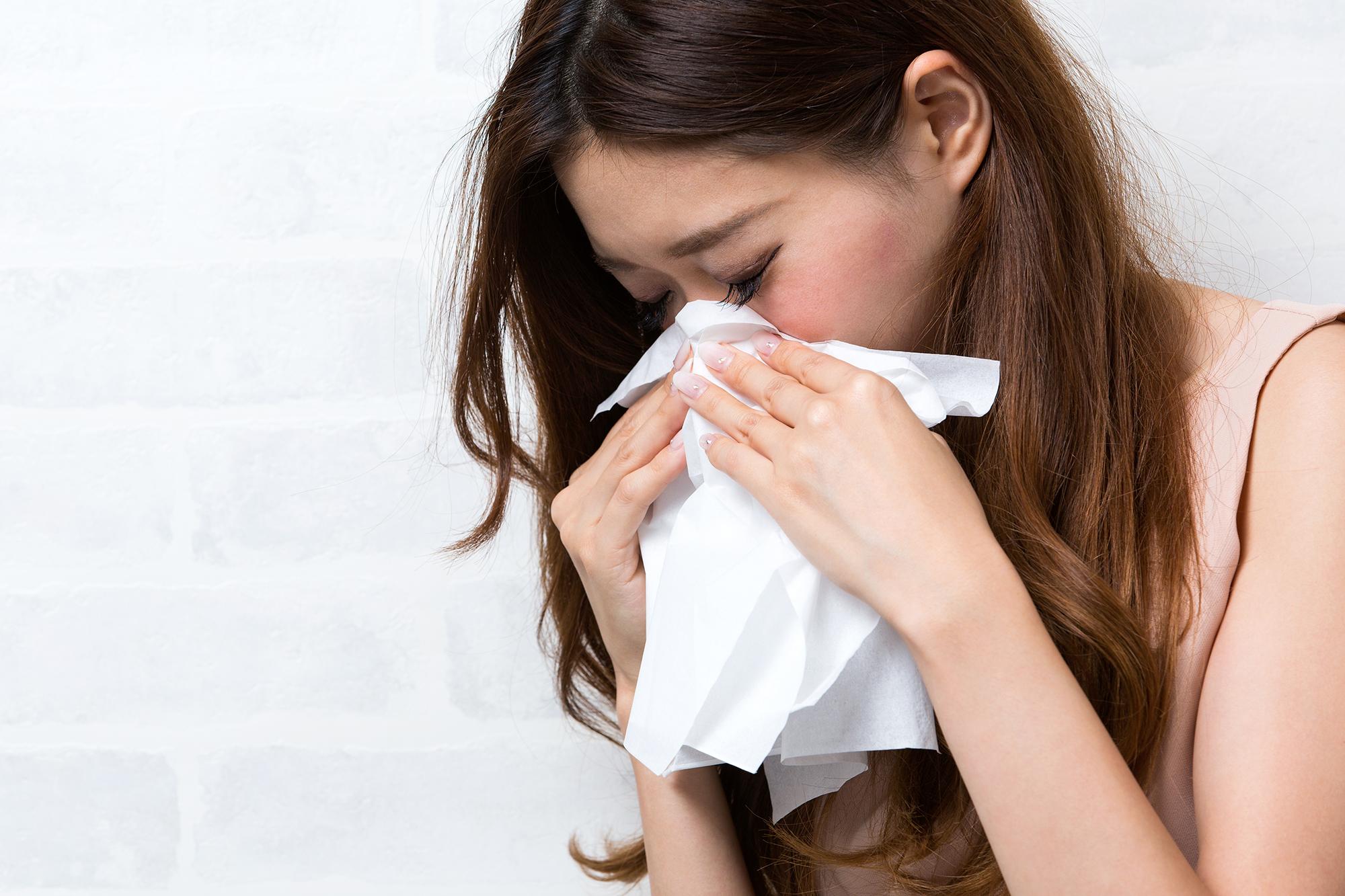 花粉症 鼻づまり 悩み
